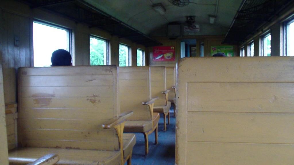 3rd Class Bangkok Thonburi To Nam Tok Train