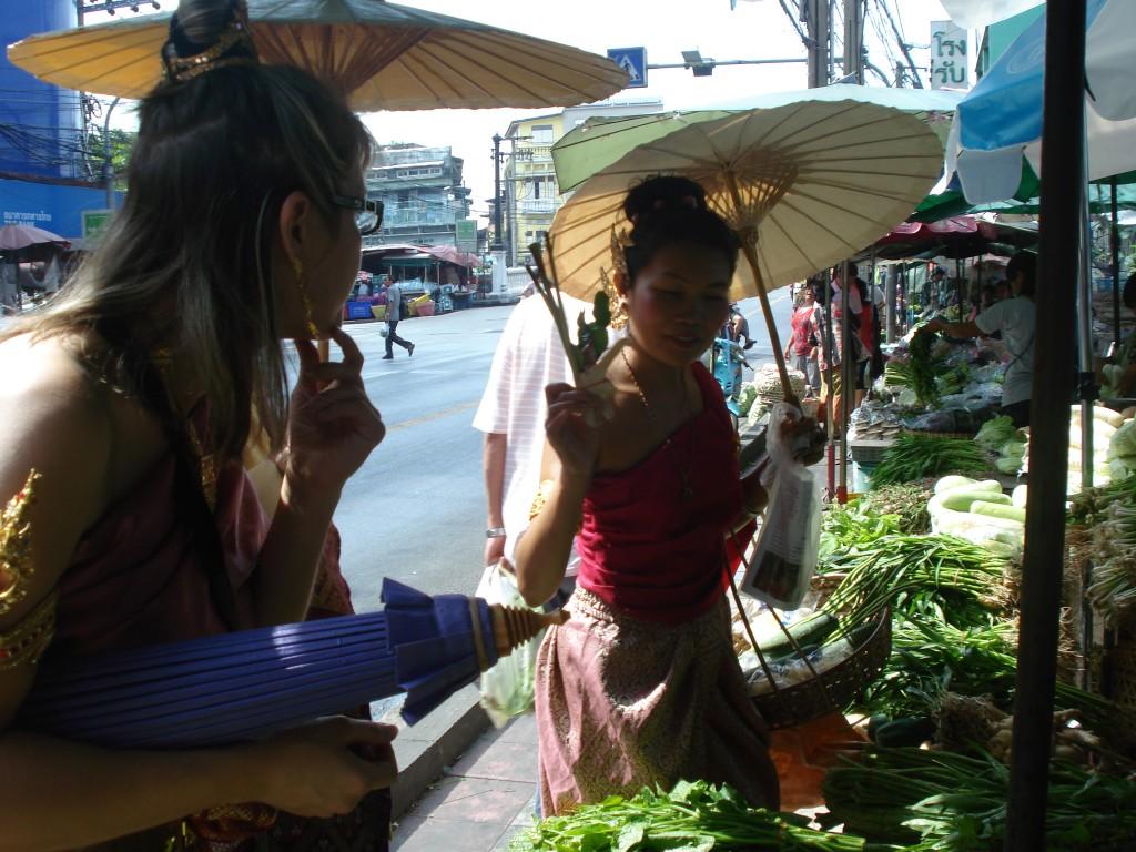 Shopping For Thai Vegetables
