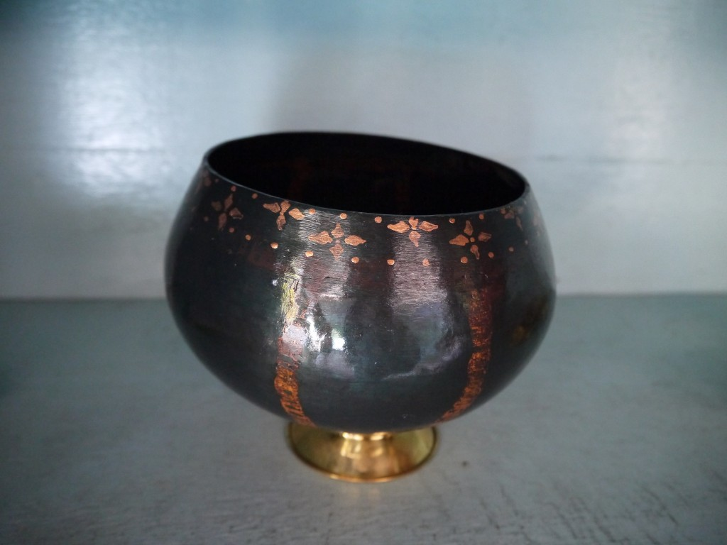 A Finished Medium Size Monk's Alms Bowl