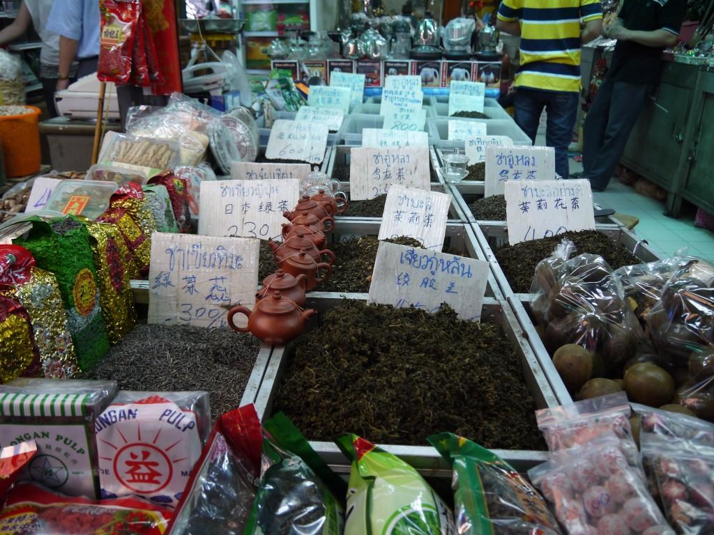 Tea At Yaowarat Soi 6 Market