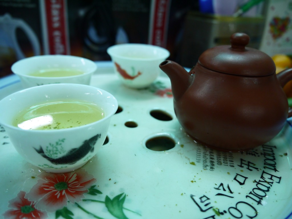 Tea Tasting In Chinatown