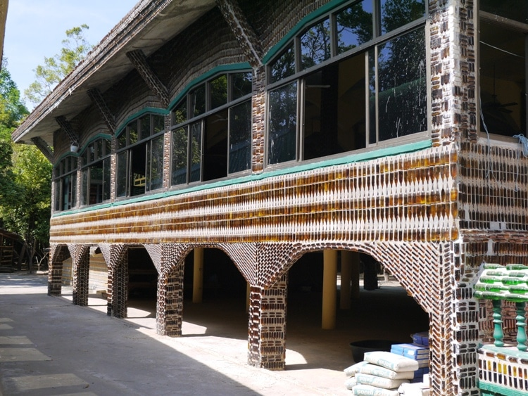 A Building At The Beer Bottle Temple, Thailand