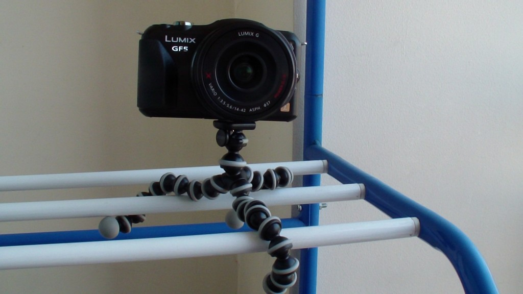 Panasonic GF5 with Joby GorillaPod
