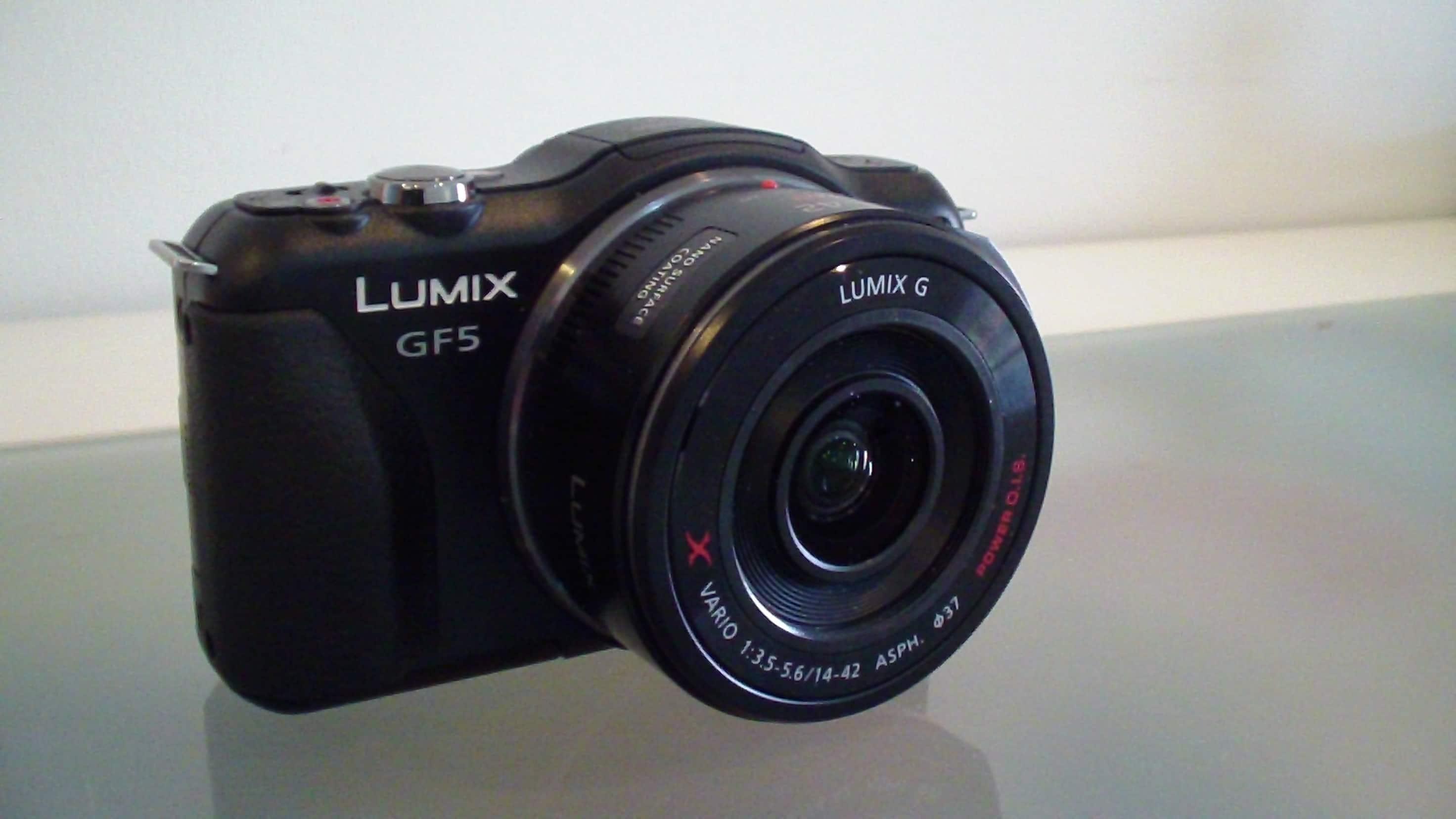 Panasonic Lumix GF5 Camera