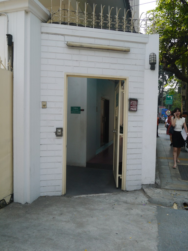 vietnam embassy bangkok entrance