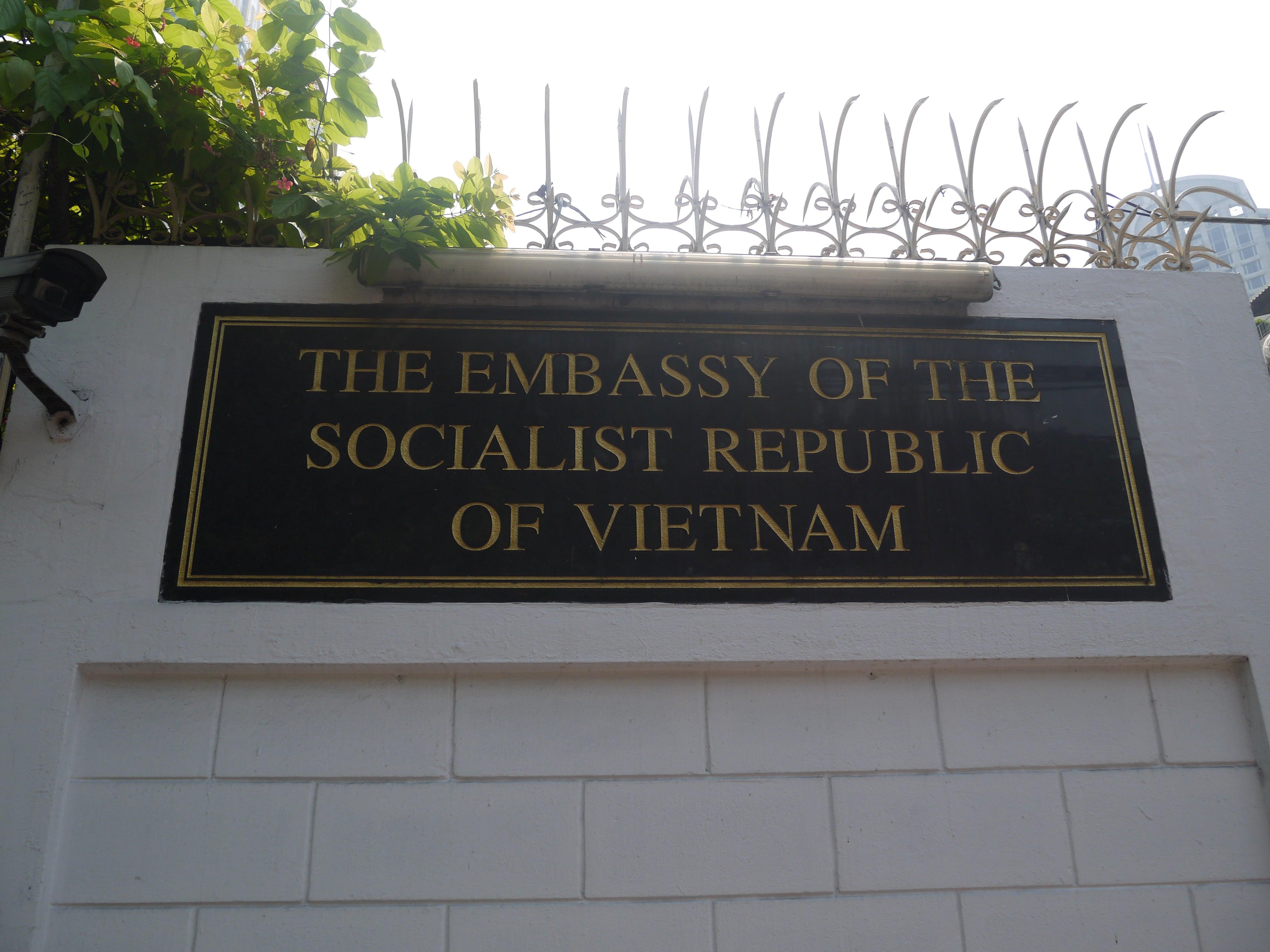 vietnam embassy bangkok