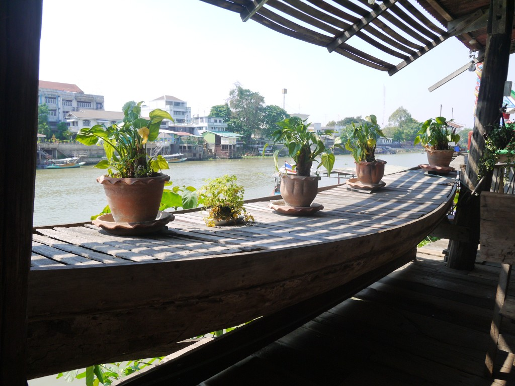 baan are gong view from restaurant