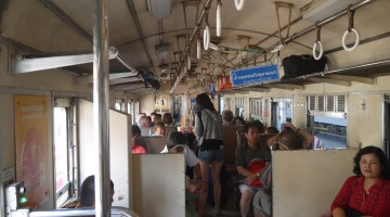3rd Class Train To Ayutthaya