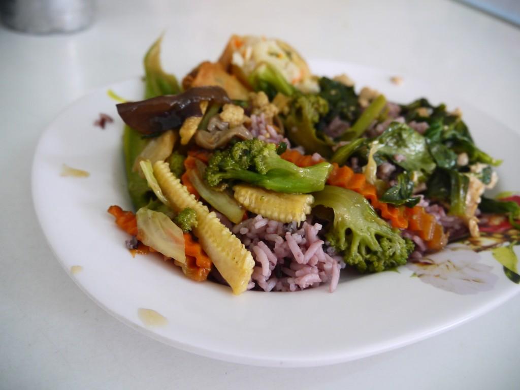 Aubaon Vegetarian Cafe, Chiang Mai
