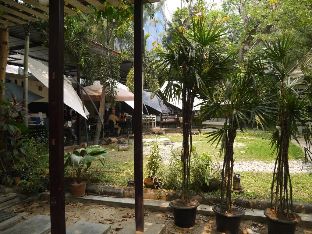 Outdoor Seating At Khun Churn, Chiang Mai