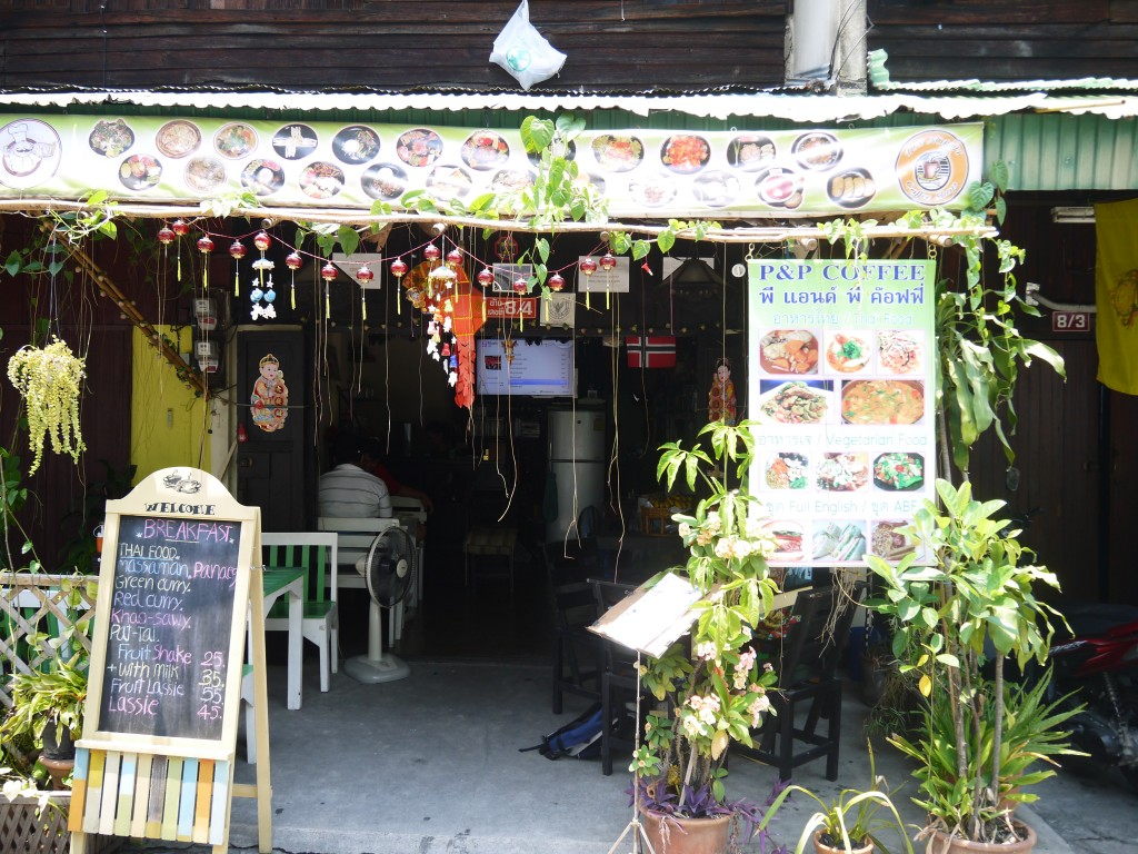 P&P Coffee - A Small Cafe In Chiang Mai