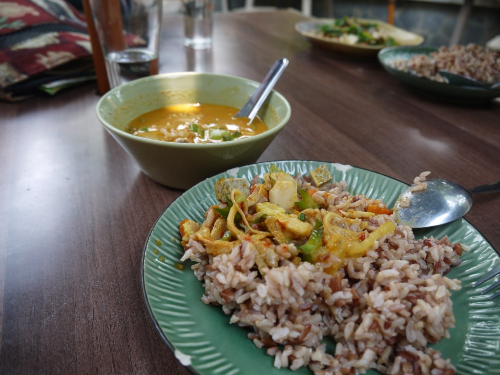 Yellow Curry At Pun Pun, Chiang Mai