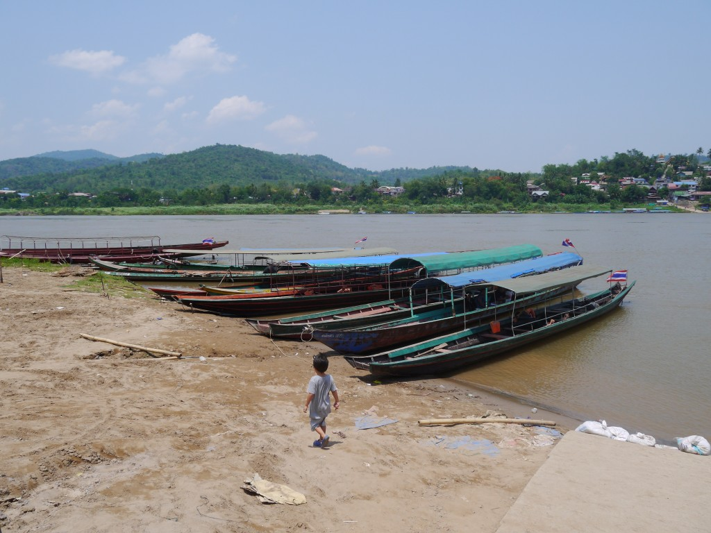 Our Boat To Laos