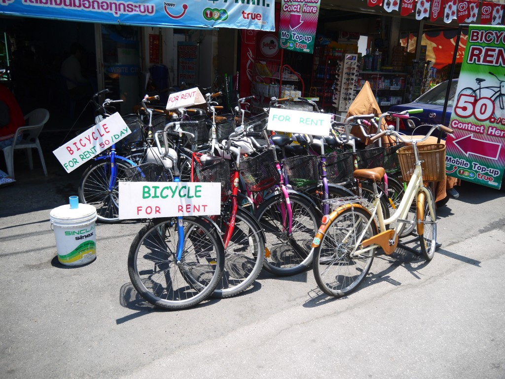 Bicycles For Rent In Chiang Mai