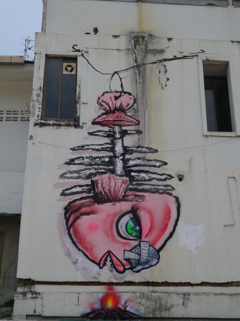Fish Graffiti In Chiang Mai