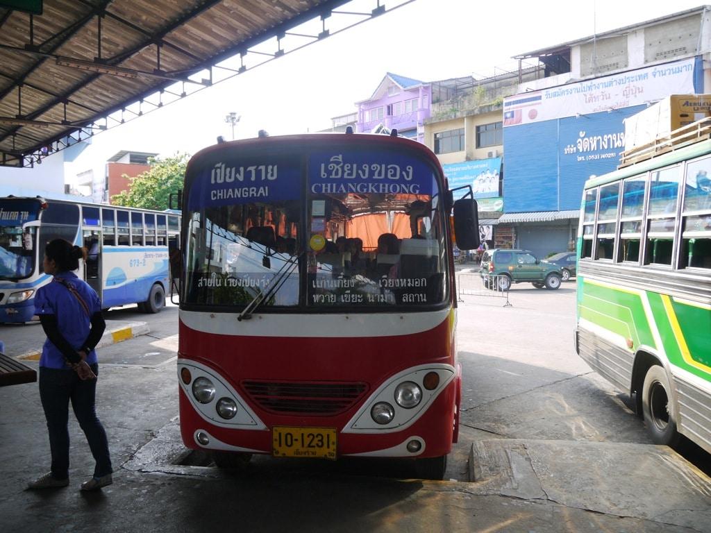 Chiang Khong (Chiang Rai) Thailand  city images : The Chiang Rai To Chiang Khong Bus Chiang Rai To Chiang Khong ...