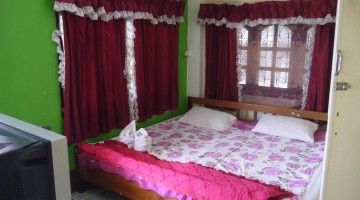 Our Very Basic Room At Friendship Guest House, Huay Xai, Laos