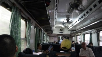 Aboard The Hanoi-Saigon Express Train, On The Way To Hue