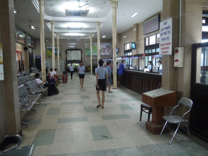 Booking Office At Hanoi Train Station