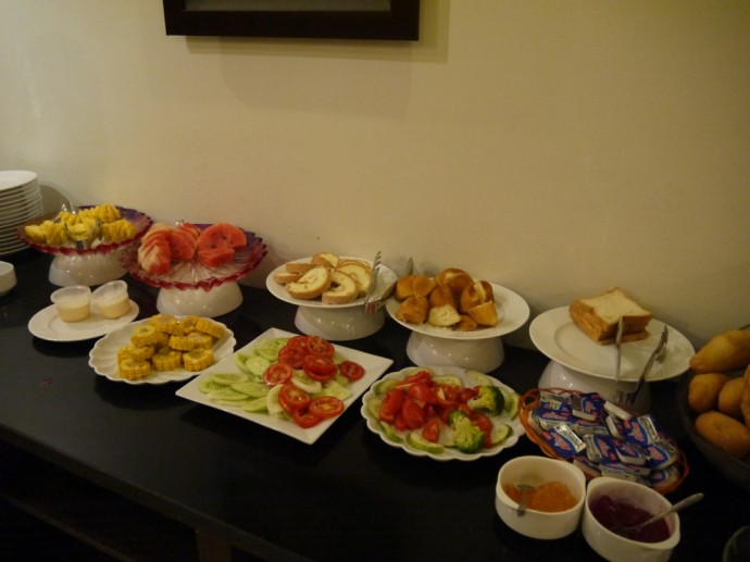 Buffet Breakfast At Landmark Hotel, Hanoi