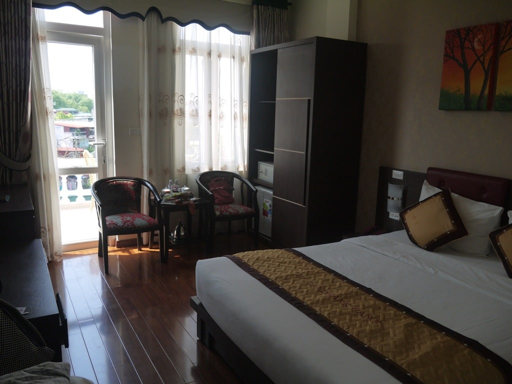 Deluxe Room At Landmark Hanoi Hotel
