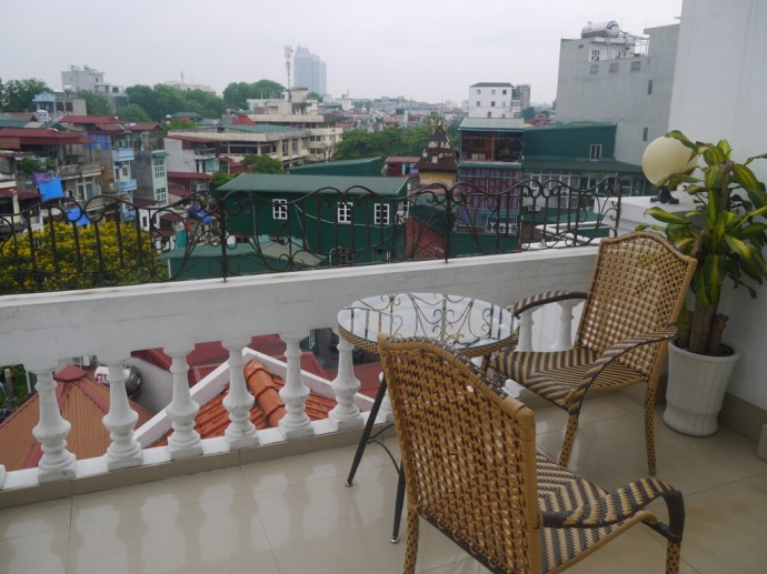 Balcony At Landmark Hanoi Hotel
