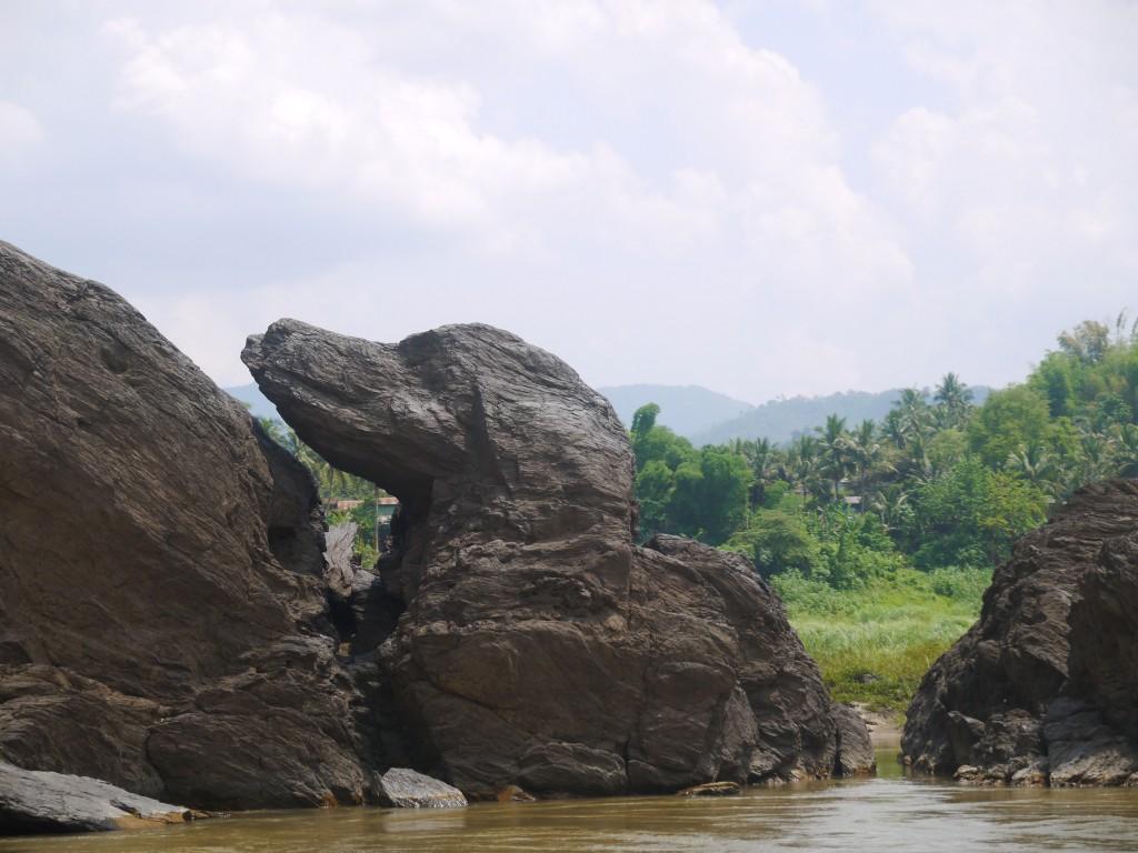 Rock Shaped Like A Dog's Head