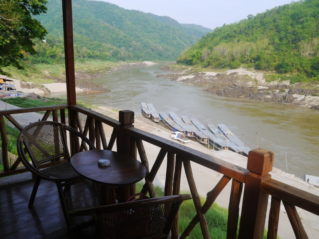 View Of The Mekong River From Our Balcony