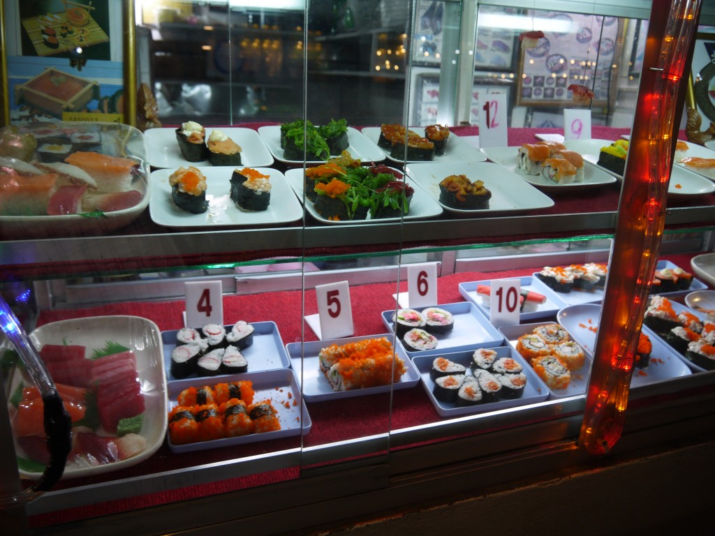 Colorful Sushi at Chiang Rai Night Bazaar