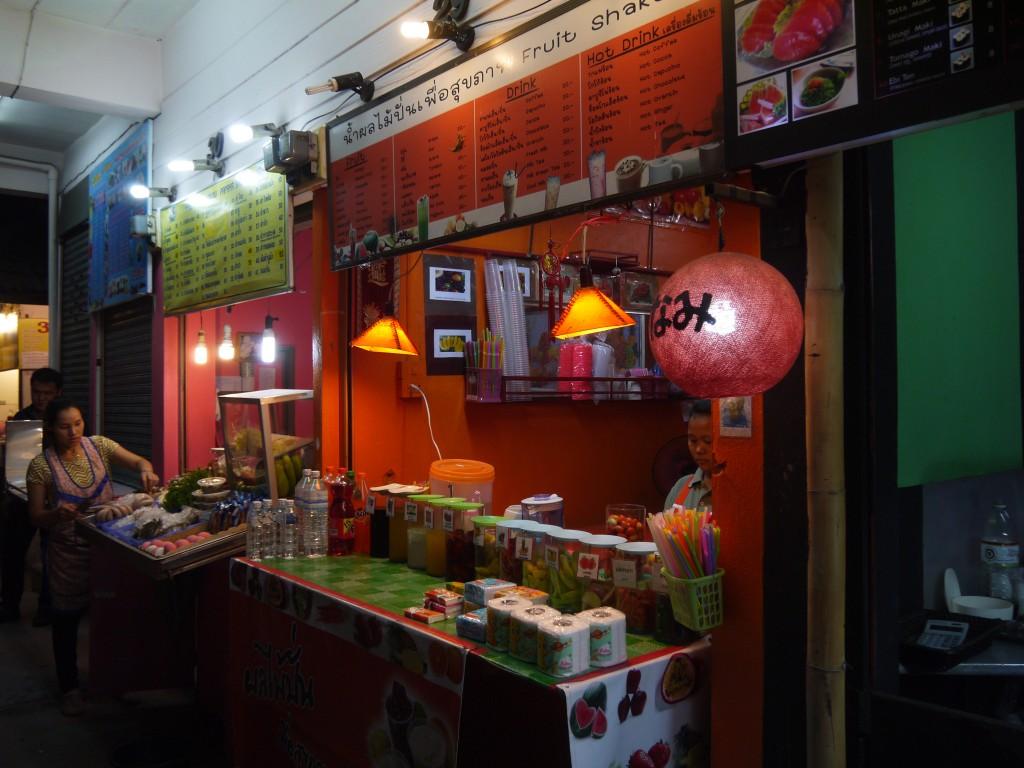 Smoothies & Juices at Chiang Rai Night Bazaar