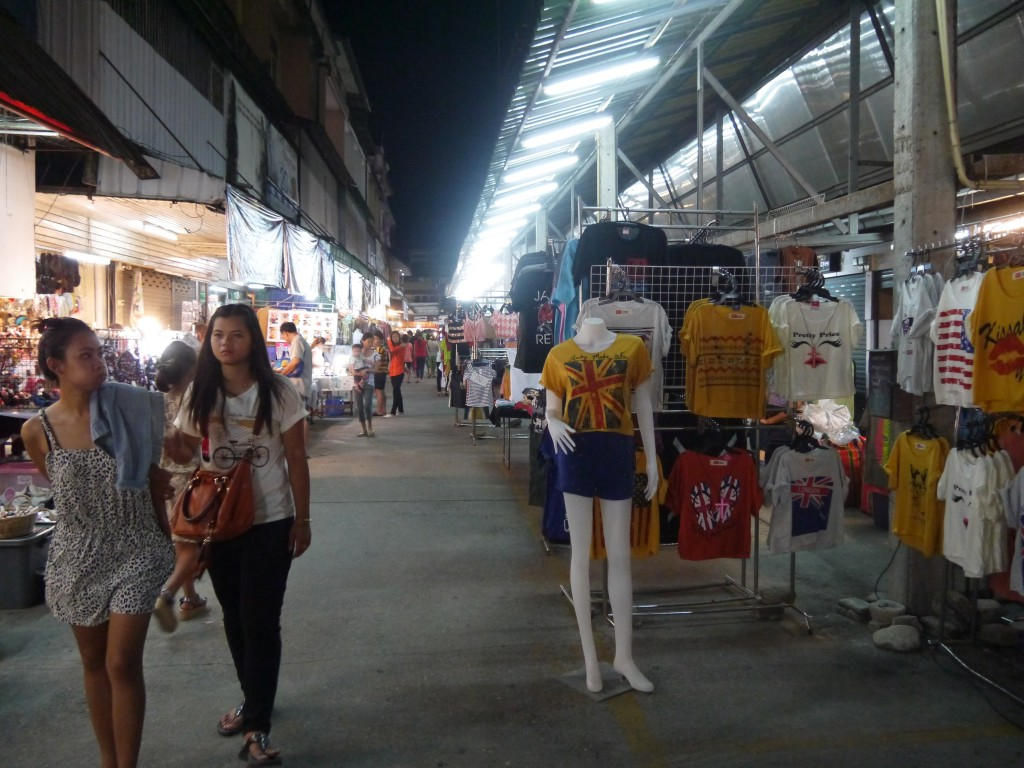 Clothes Section of Chiang Rai Night Bazaar
