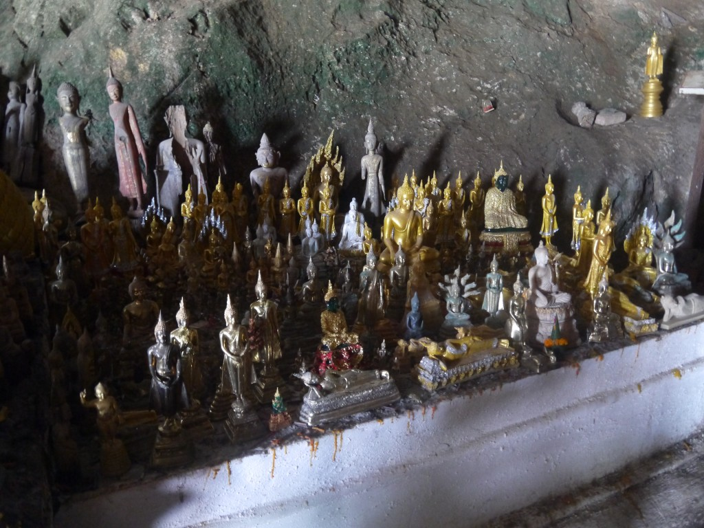 Some More Of The 4,000 Buddha Images At Pak Ou Caves In Laos