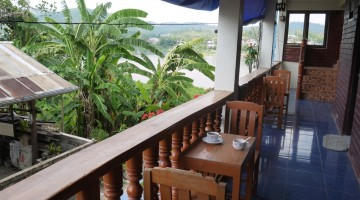 Outdoor Seating At Portside Hotel, Chiang Khong