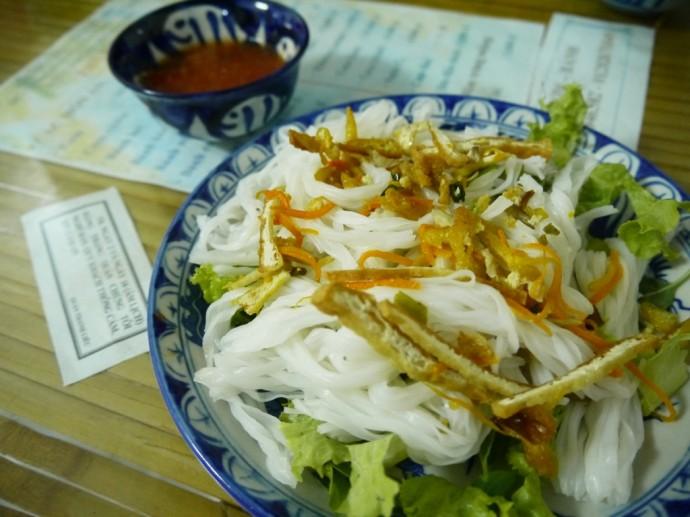 Pho Kho (Noodles) At Quan Chay Thanh Lieu In Hue, Vietnam