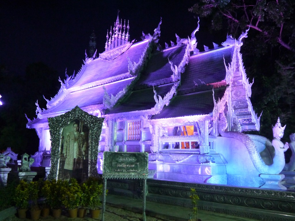 Sri Suphan Temple At Night