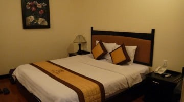 Deluxe Room At Than Thien Friendly Hotel In Hue, Vietnam