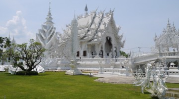 The Magnificent White Temple (Wat Rong Khun) in Chiang Rai