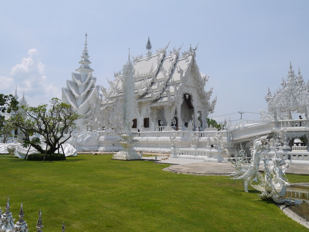 The White Temple (Wat Rong Khun), Chiang Rai - Renegade Travels