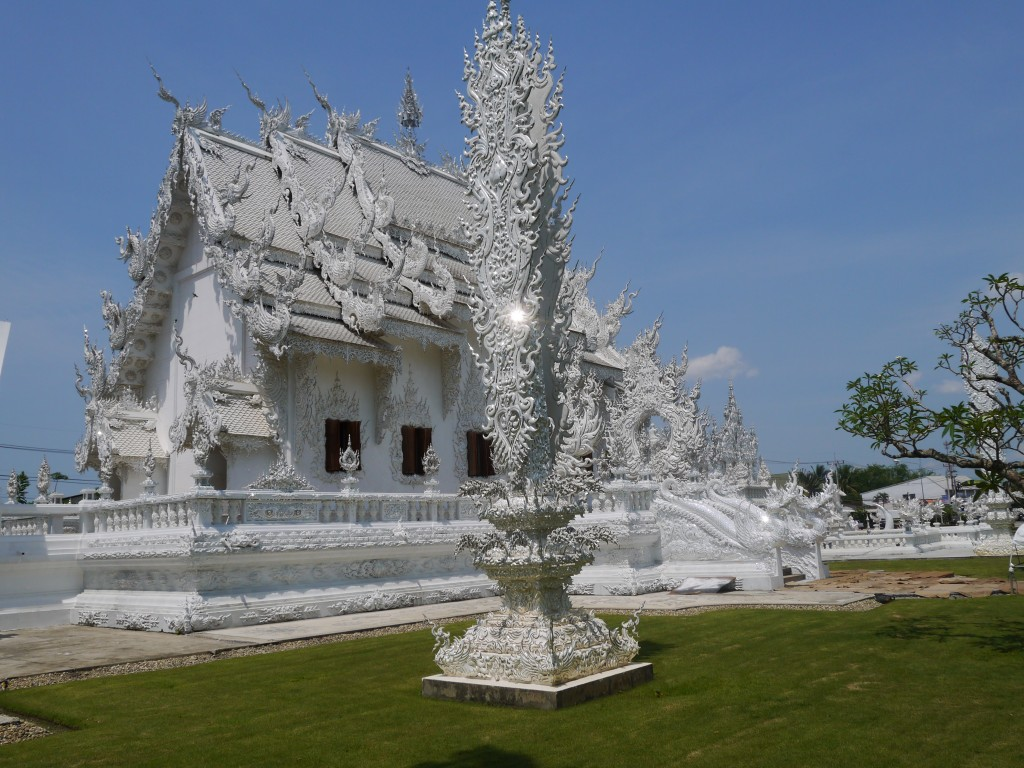 View From Rear Of The White Temple, Chiang Rai