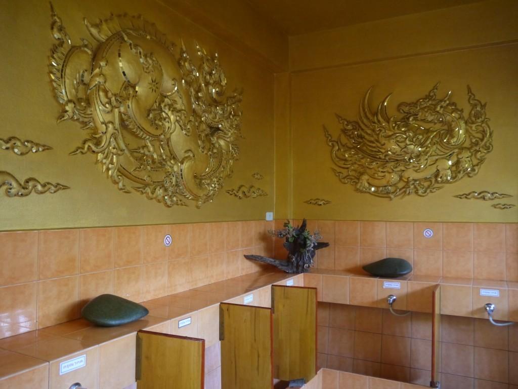 The Men's Toilets At The White Temple, Chiang Rai