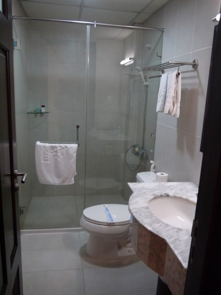 Very Modern Bathroom At Aries Hotel, Ho Chi Minh City