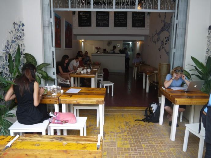 ARTillery Vegetarian-Friendly Restaurant at Street 278, Phnom Penh