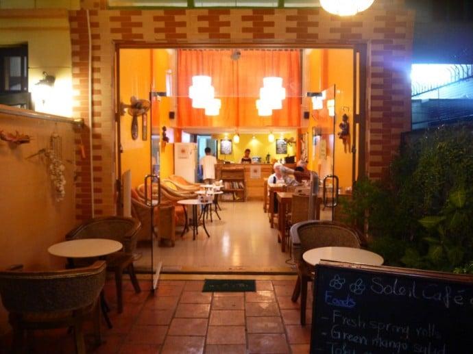 Cafe Soleil, Phnom Penh, Cambodia