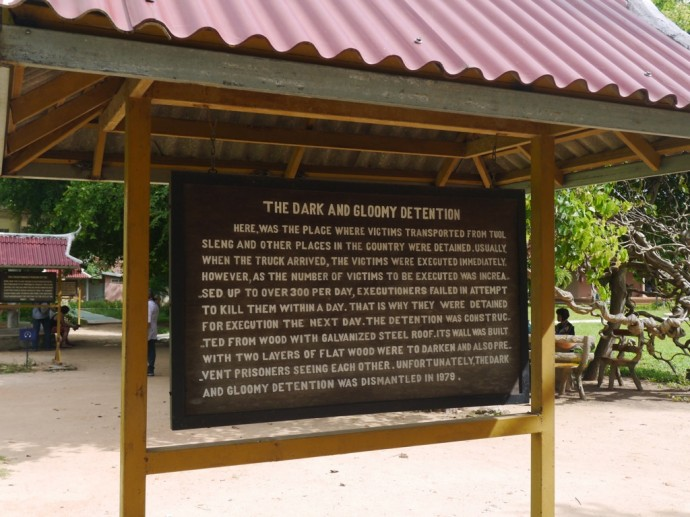 Truck Stop At The Killing Fields