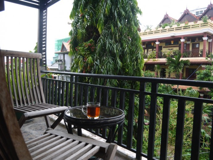 Balcony At Goldie Boutique Guest House, Phnom Penh