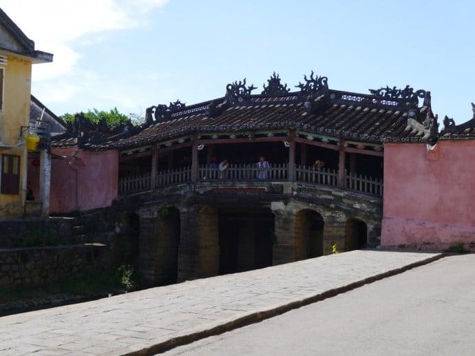 The Japanese Bridge In Hoi An, Vietnam