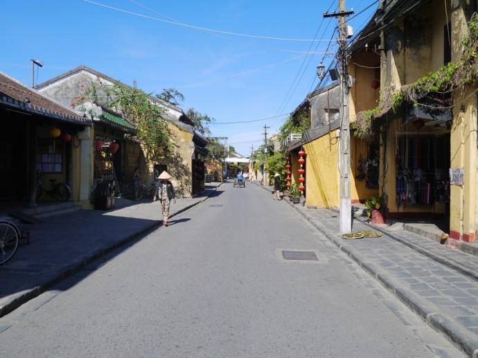 A Quiet Street In Hoi An