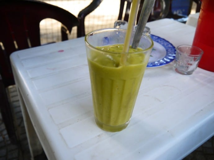Avocado & Mango Smoothie Near Our Hotel