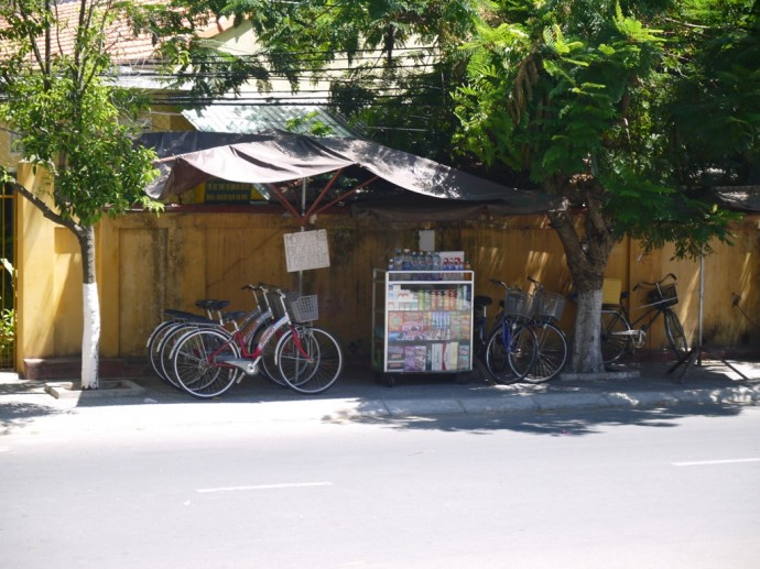 Bike Hire Opposite Hoi An Lantern Hotel