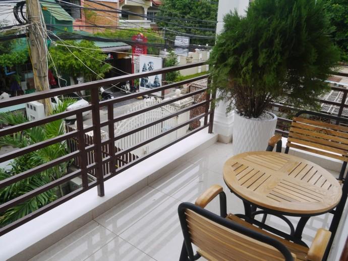 Balcony At Homefeel CS Hotel, Phnom Penh
